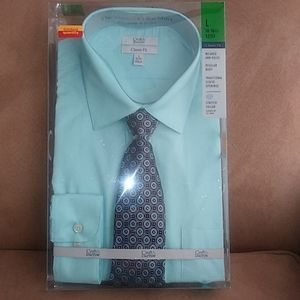 🌀Brand New Shirt and Tie Neck